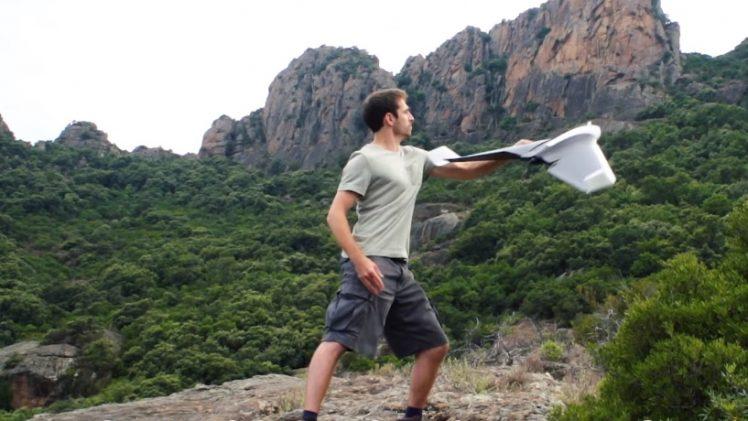 Parrot Disco - décollage et atterrissage automatiques