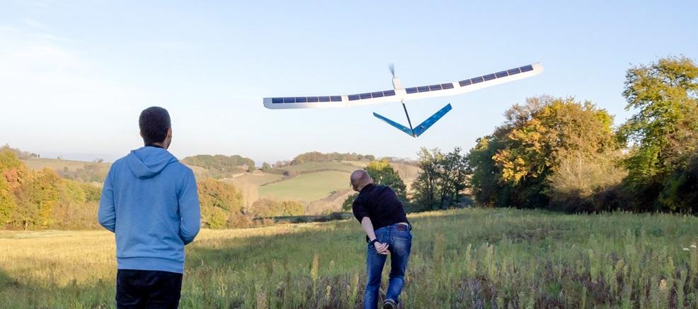 drone solaire sunbirds