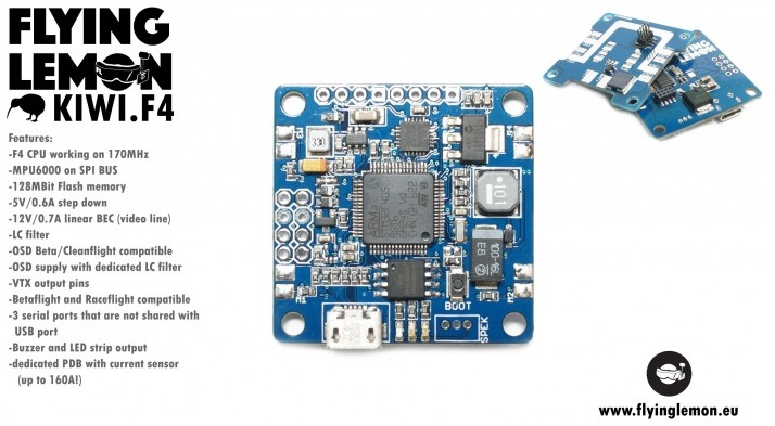kiwif4 flight controller