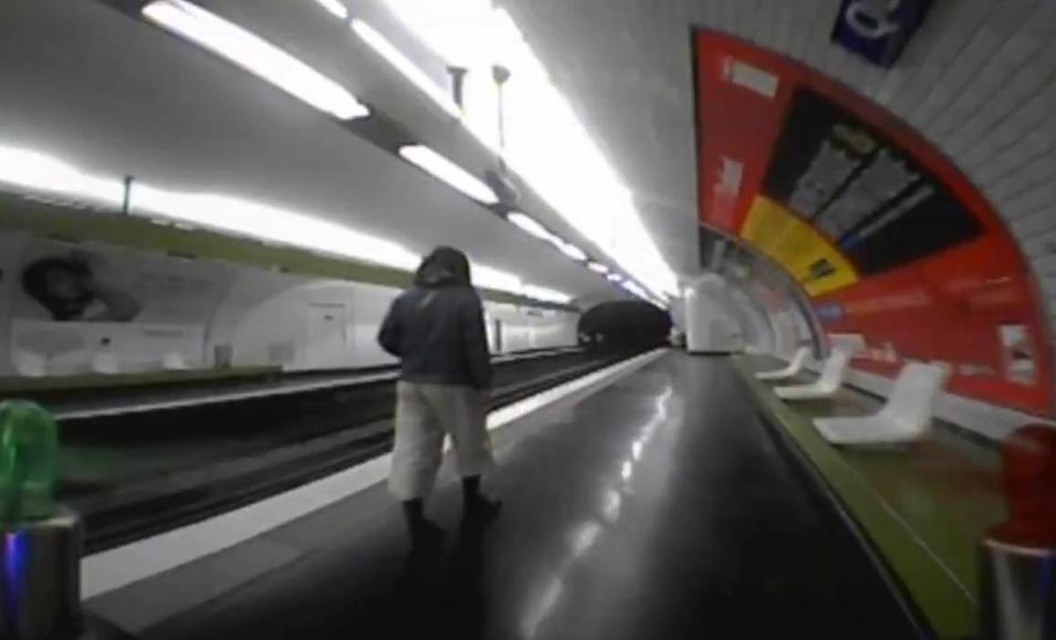drone fpv metro parisien paris