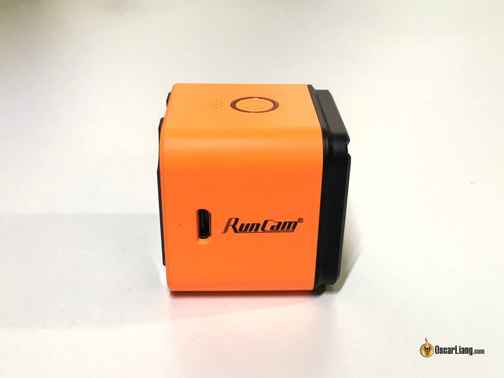 Port micro USB de la Runcam 3 HD