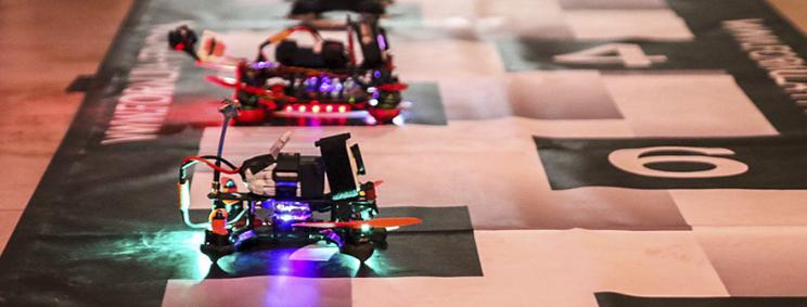 départ d'une course de drone