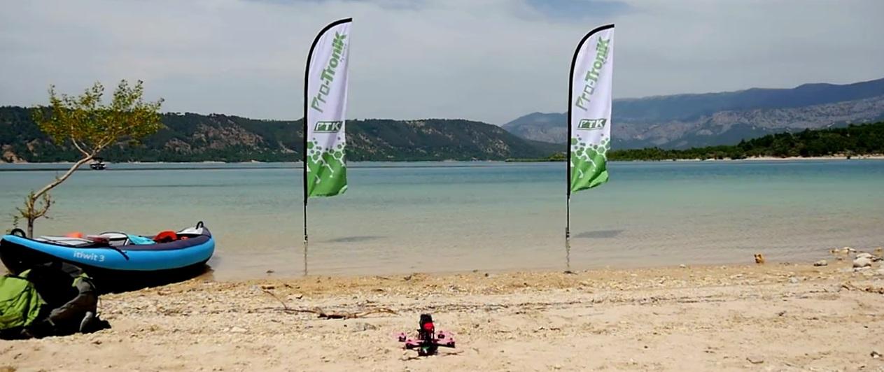 drone plage region paca