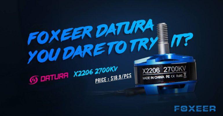 foxeer datura X2206 2700KV