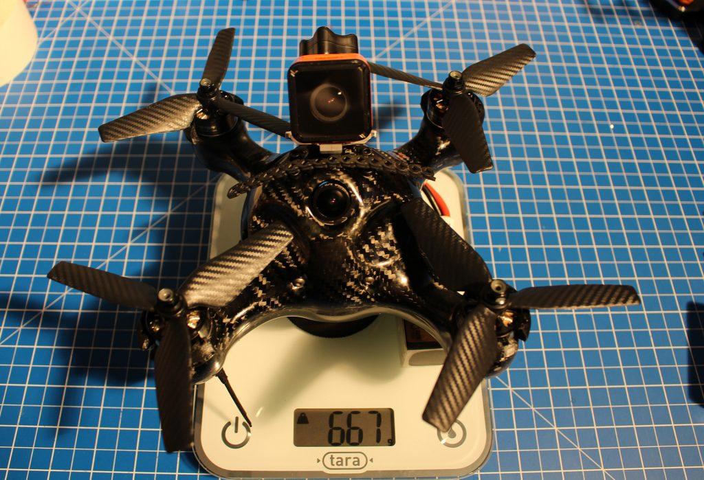 Nimbus 195 poids 4S + Cam HD