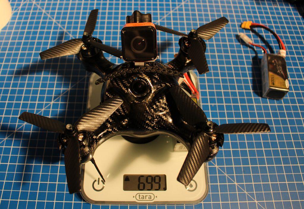 Nimbus 195 poids 5S + Cam HD