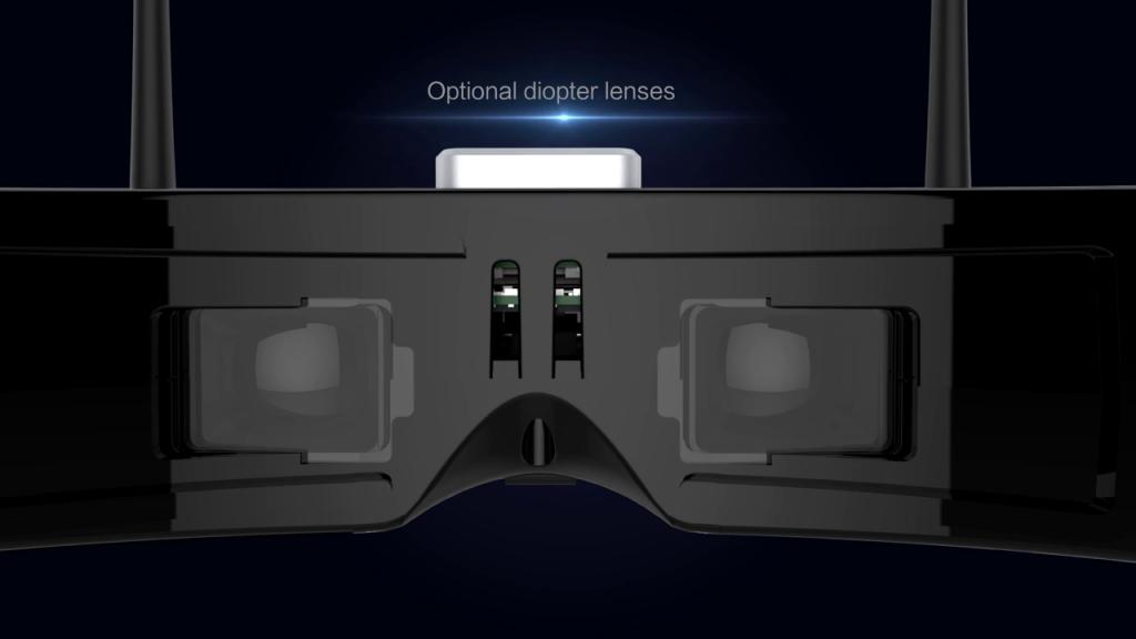 Skyzone SKY03 lentilles correctrices
