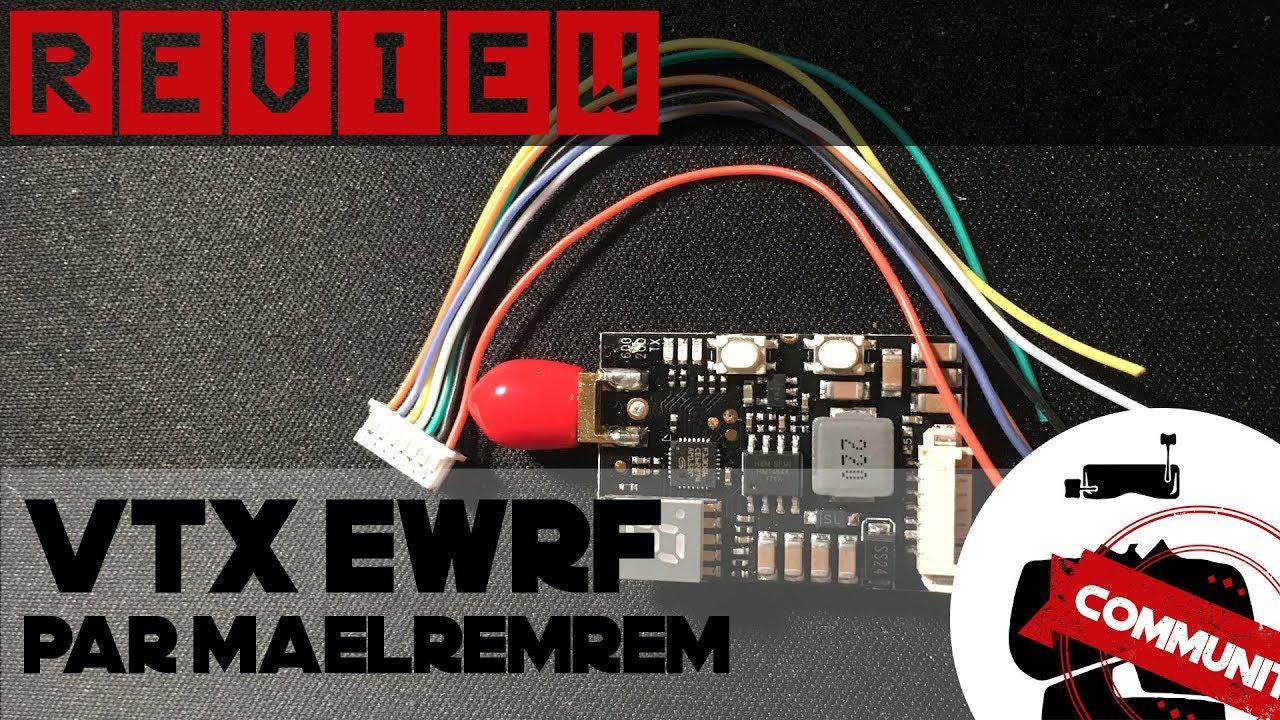 vTx eWRF 708 TM3, la review par Maelremrem