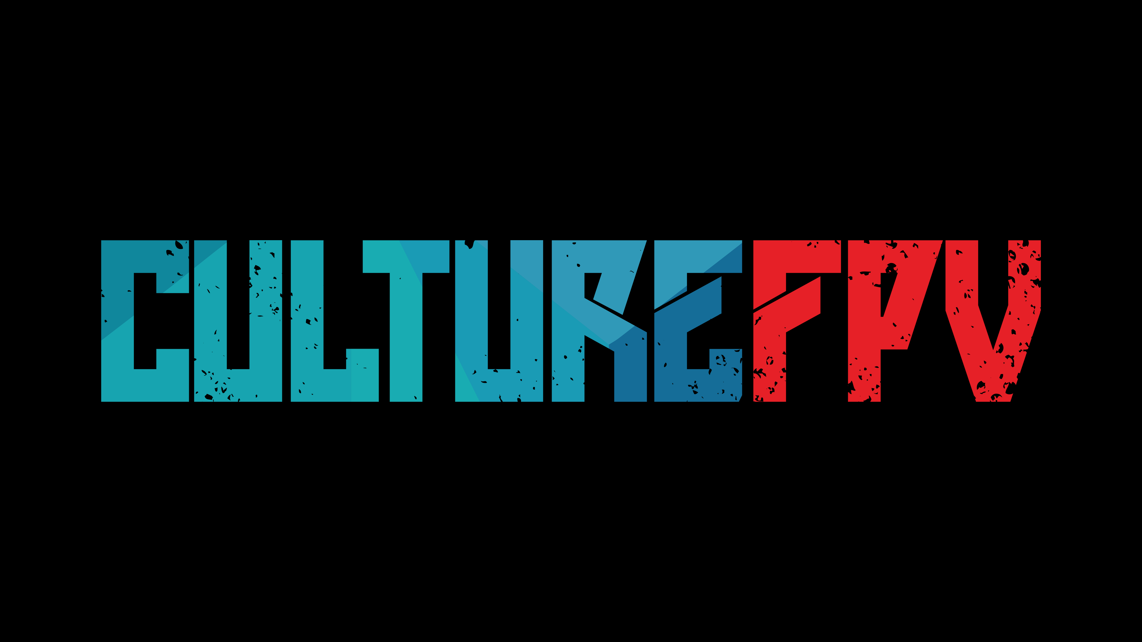 Logo Culture FPV 4K foncé