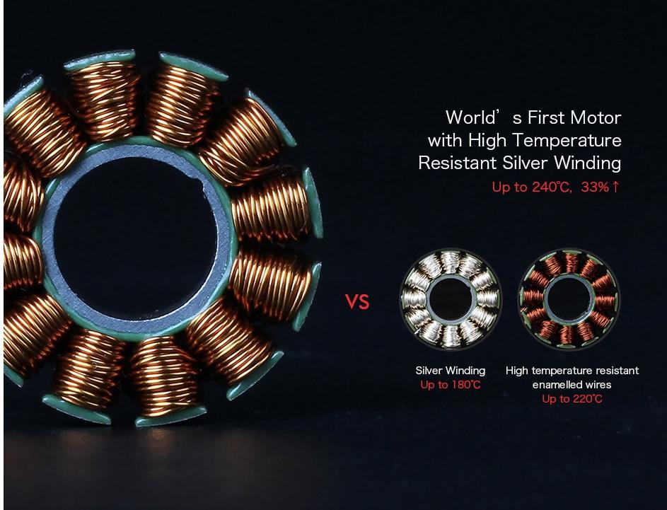T-Motor F60 Pro II bobinage