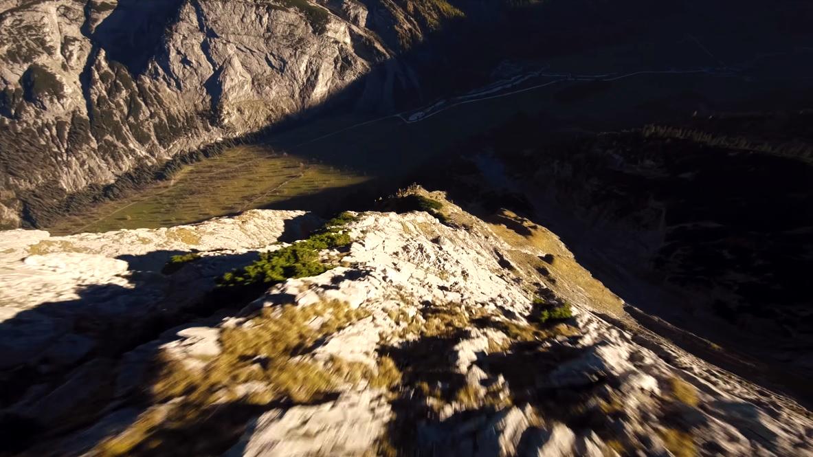 downhill drone