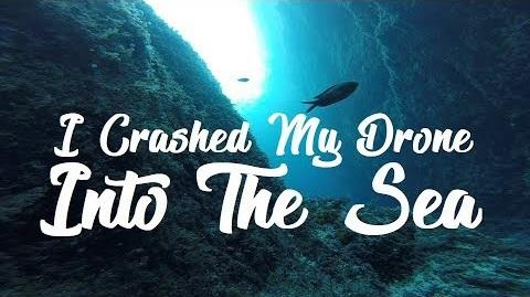 drone sous l'eau