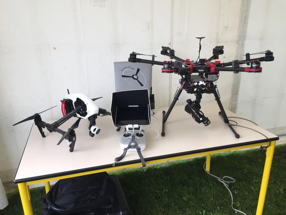 drones de prise de vue professionnels