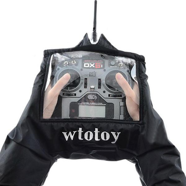 gants chauds moufle moumoutte radiocommande drone