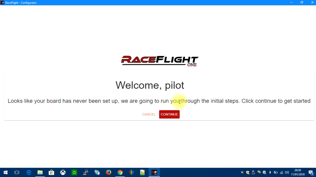 tuto-flash-raceflight-one-14-conf-auto