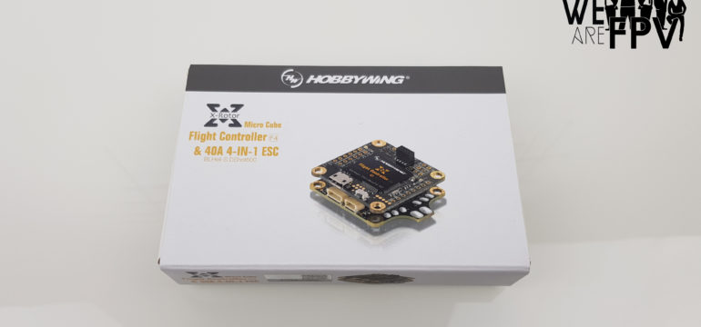 Hobbywing X-Rotor Combo FC F4 ESC 4 en 1 004