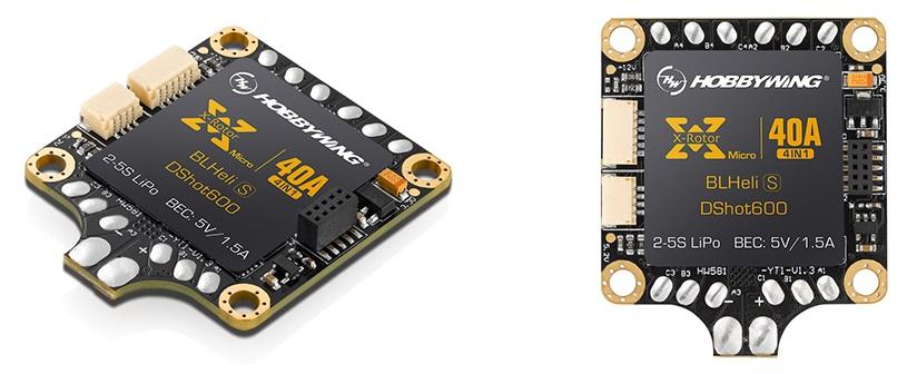 Les ESCsXRotor Micro 40A 4 en 1 BLHeli-S DShot600
