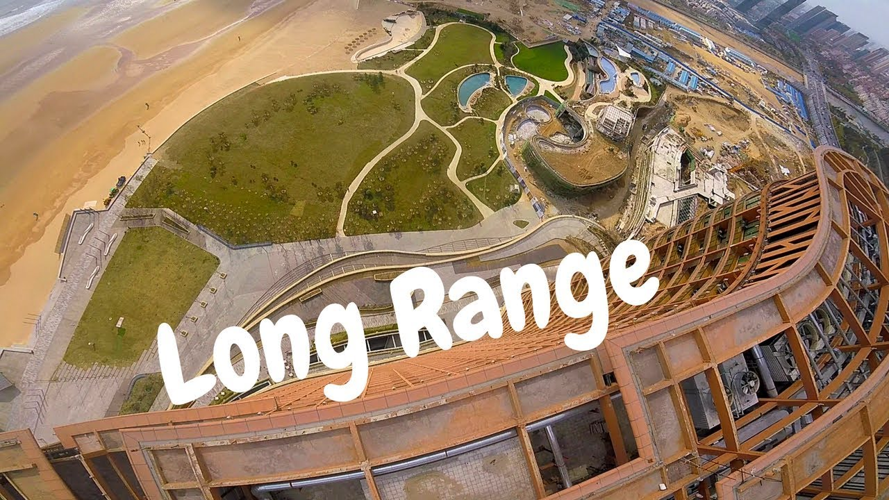drone long range chine dive building