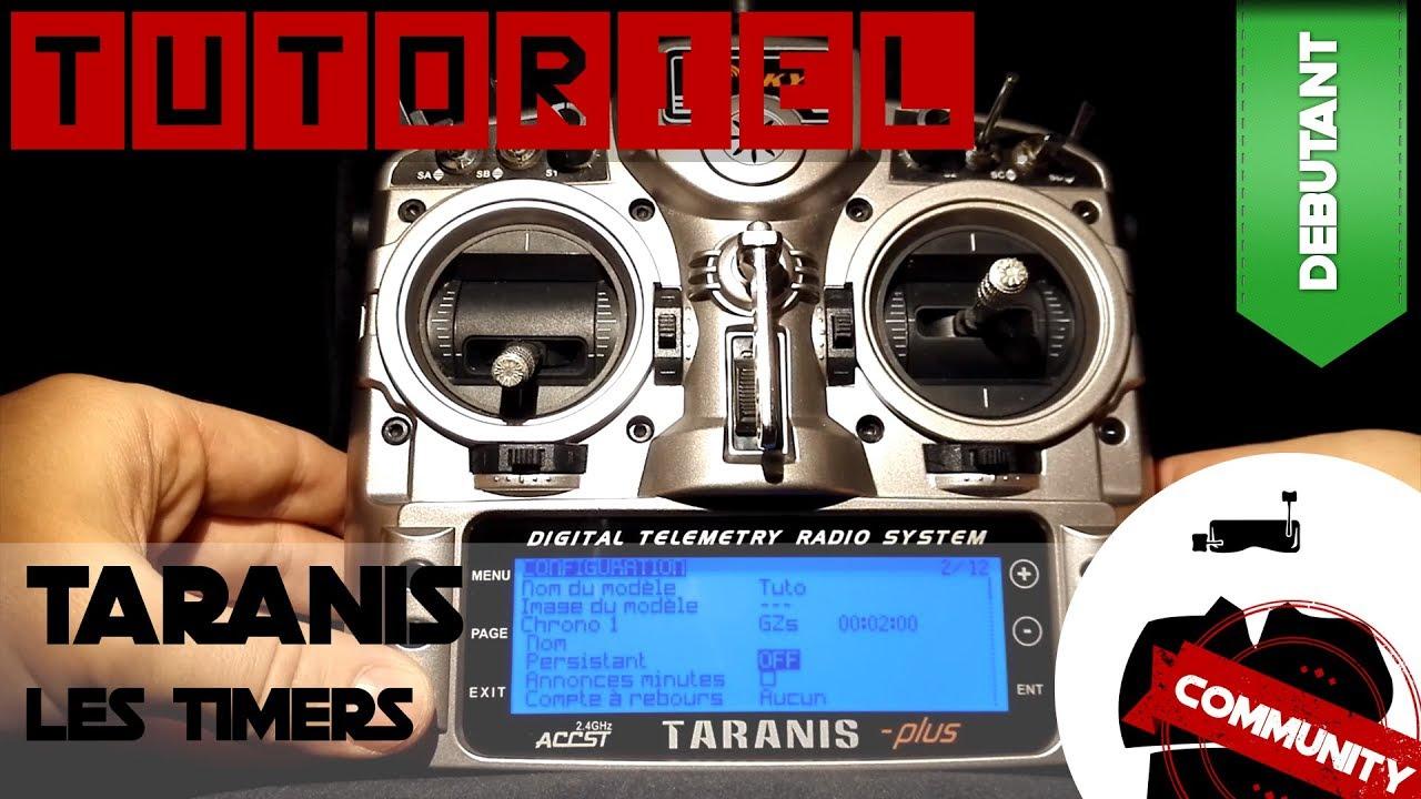 Tutoriel Taranis : les timers (chronomètres)