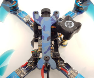 Test Eachine Wizard TS215 top plate
