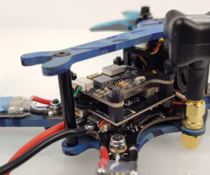 Test Eachine Wizard TS215 stack