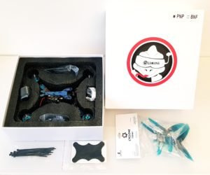 Test Eachine Wizard TS215 packaging