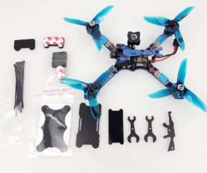 Test Eachine Wizard TS215 contenu package