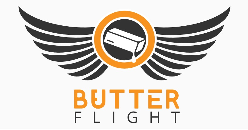logo butter flight