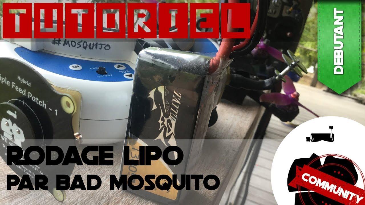 Rodage LiPo, la méthode Bad Mosquito