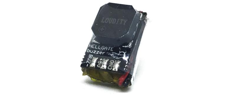 test hellgate fpv buzzer