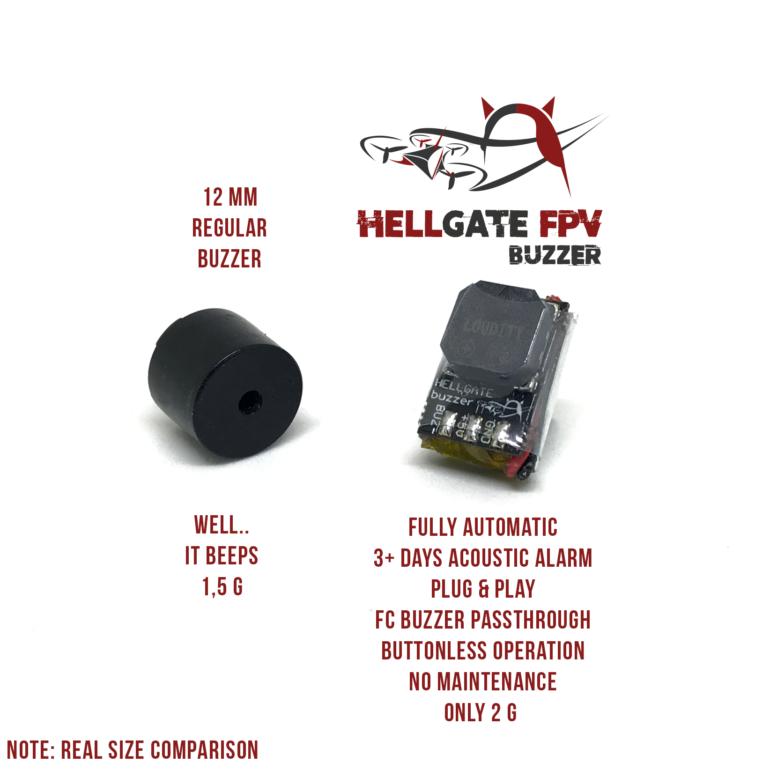 comparatif buzzer drone