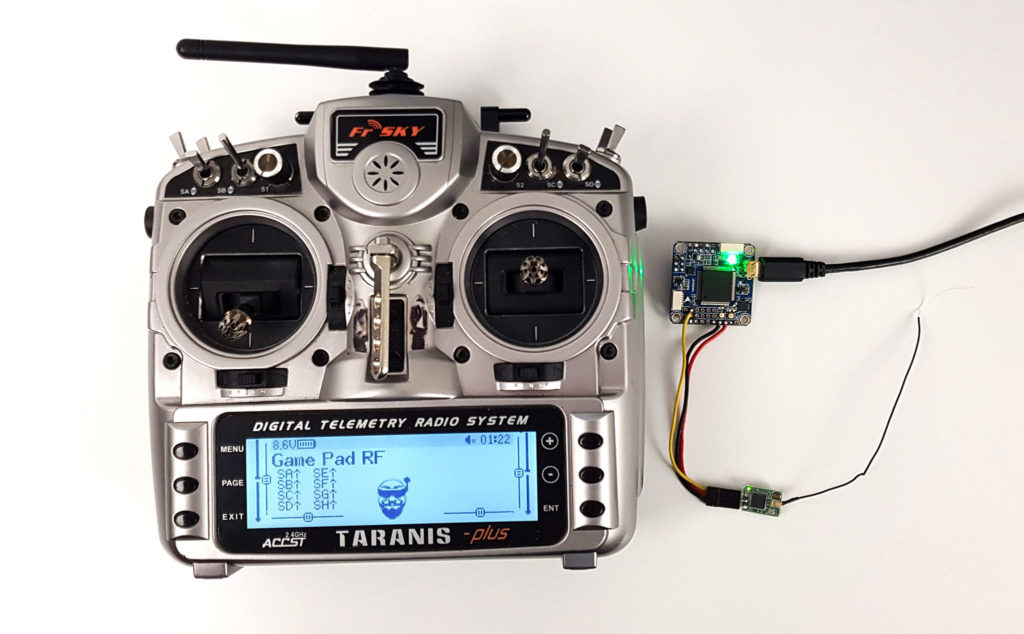 gamepad rf betaflight hid usb