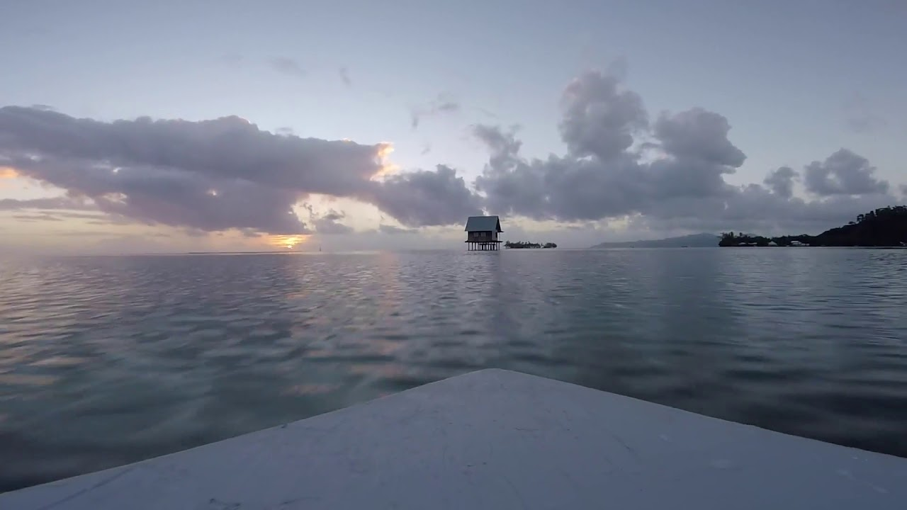 Polynésie Raiatea Bateau FPV