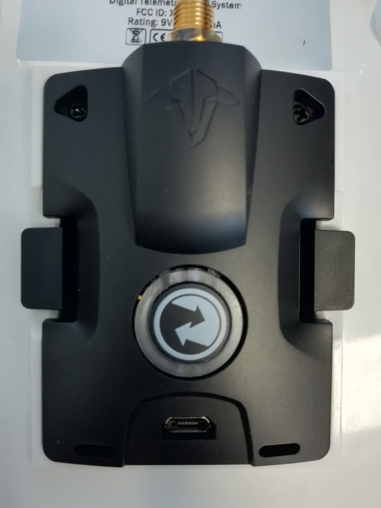 module externe crossfire installé FrSky Taranis QX7