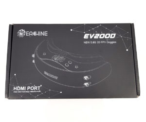 Test Eachine EV200D Review Demo 003 top case