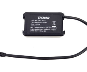 Test Eachine EV200D Review Demo 010 batterie