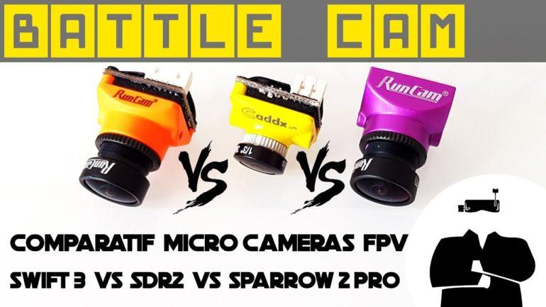 Comparatif de caméras FPV #4