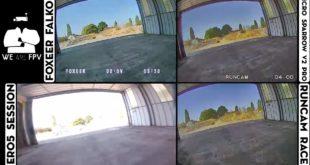 test foxeer falkor vs runcam racer-01