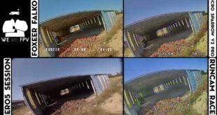 test foxeer falkor vs runcam racer-02