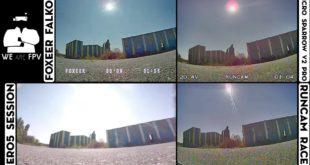 test foxeer falkor vs runcam racer-06