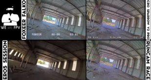 test foxeer falkor vs runcam racer-10