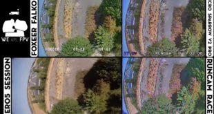test foxeer falkor vs runcam racer-12