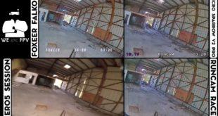 test foxeer falkor vs runcam racer-14
