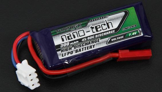 Turnigy nano-tech 300mAh 2S 45 ~ 90C