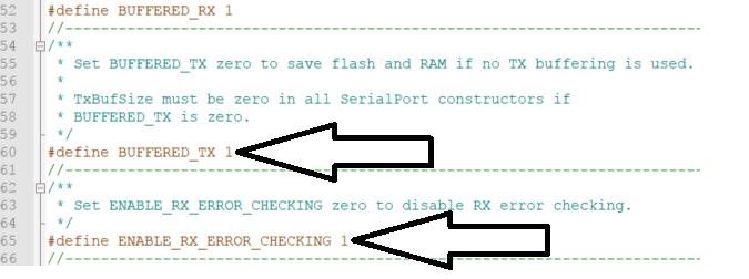OpenLog config SerialPort.h
