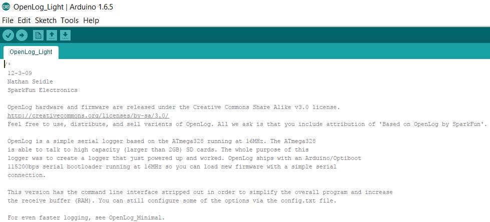 Arduino modifier firmware