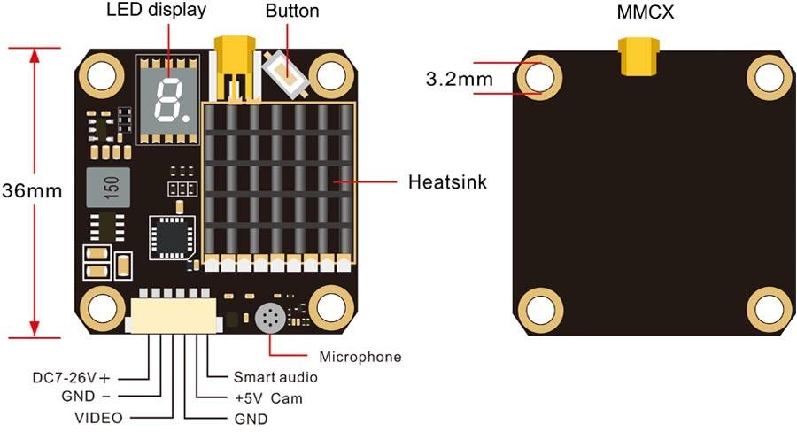 cablage wiring akk fx2 dominator