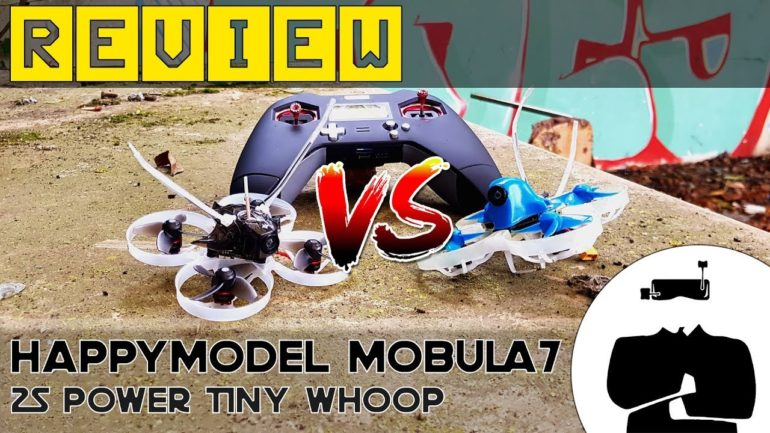 Test Happymodel Mobula7