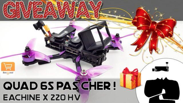 Drone Eachine Wizard X220HV, LE cadeau de Noël 🎁 !