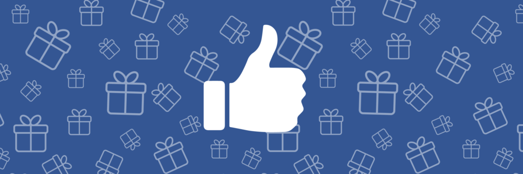 giveaway facebook like